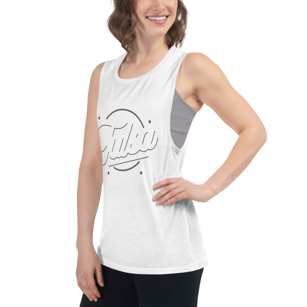 Tulsa Time Women's Tri-blend Muscle Tank, Tanks & Camis, - The Vintage Phoenix Marketplace