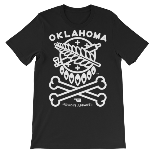 OK Crossbones T-shirt - White, TShirts, - The Vintage Phoenix Marketplace