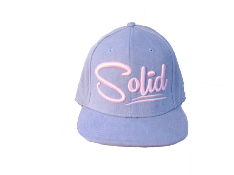 """Solid"" Baby Blue/Pink"