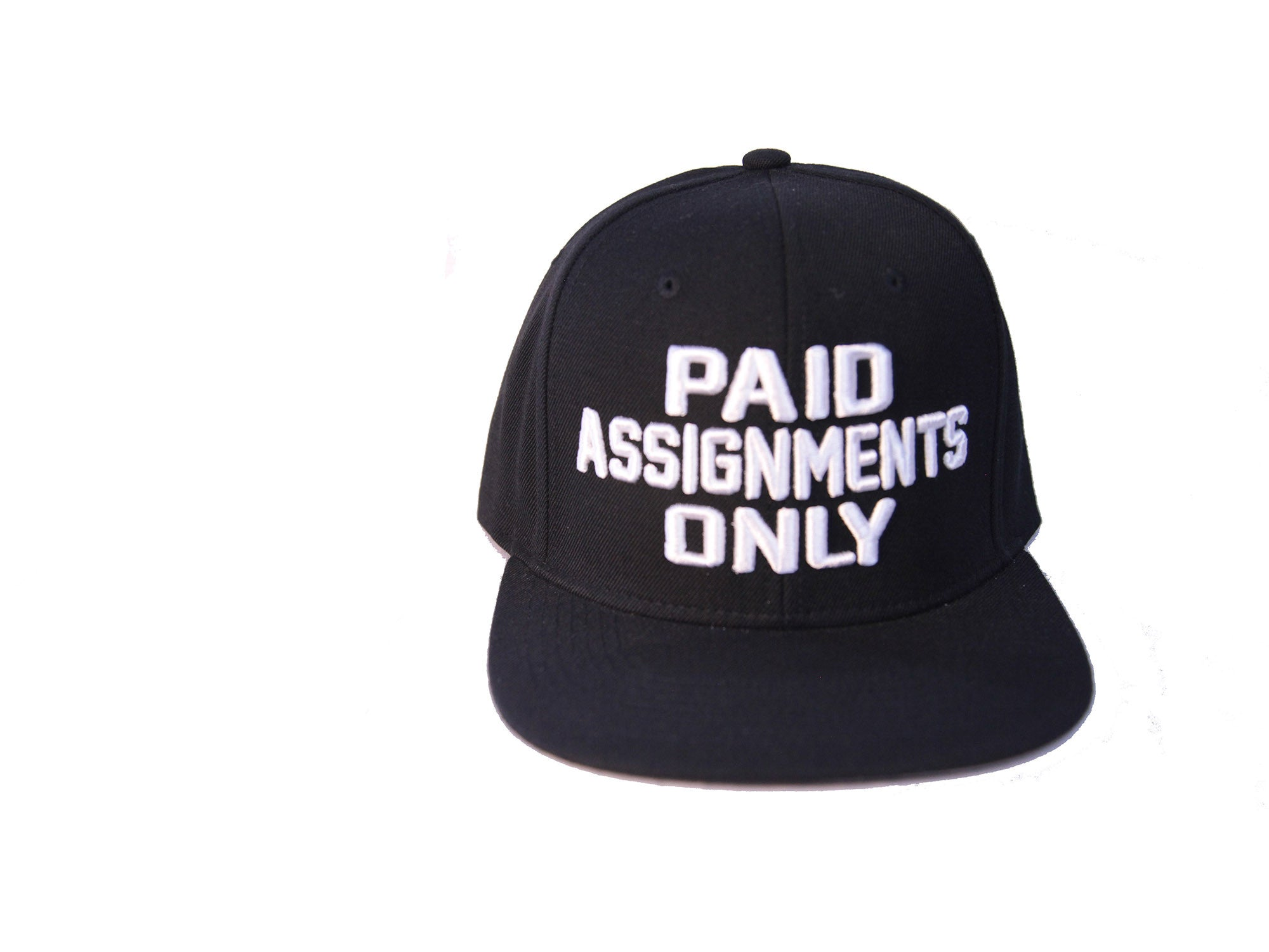 """Paid Assignments"" Black Cap"