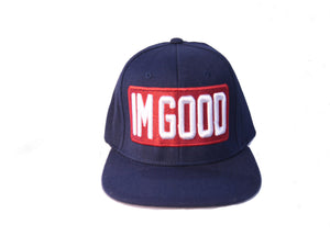 """I'm Good"" Blue Cap"