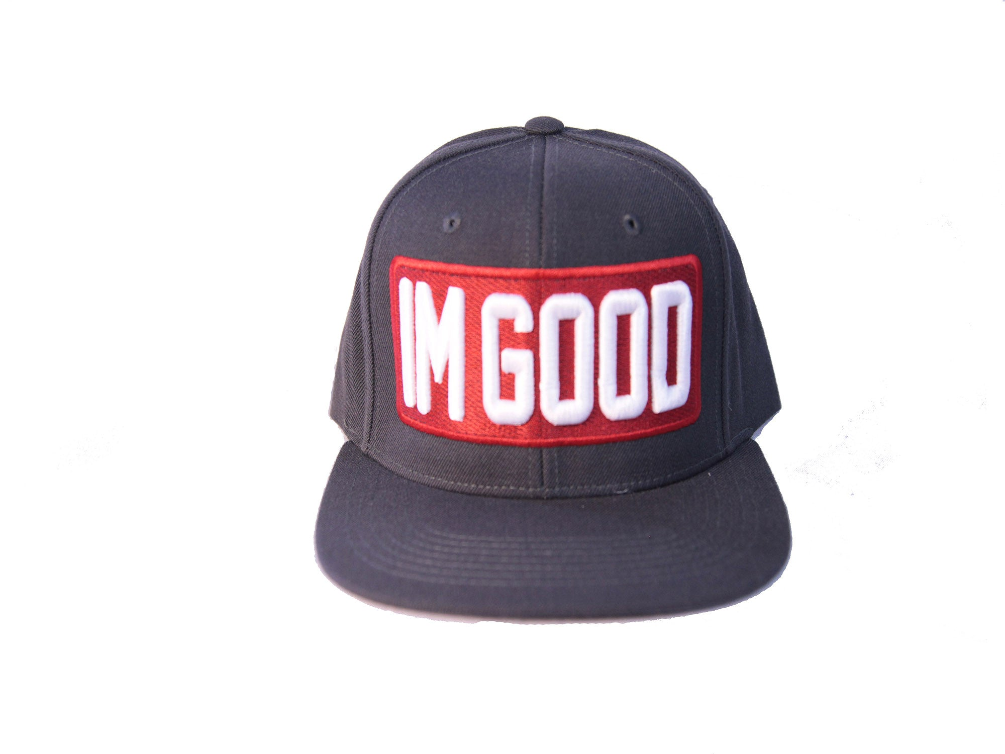 """I'm Good"" Navy Blue Cap"