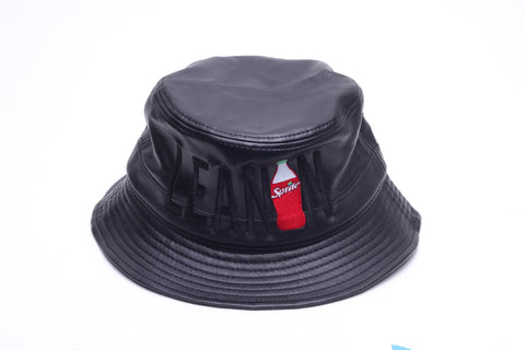 """Lean"" Black Bucket Hat"
