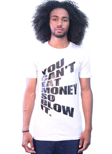 """Blow It"" White/Black T-Shirt"