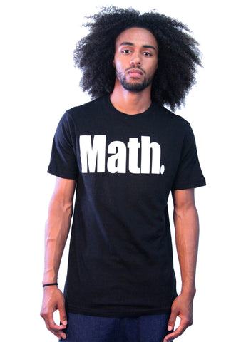 """Math"" Black T-Shirt"