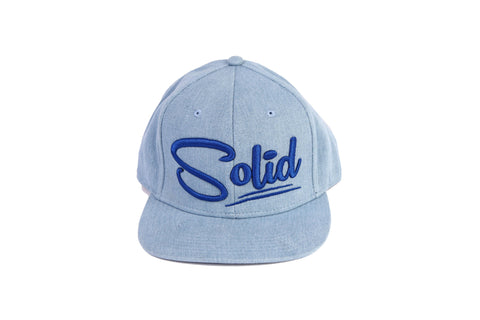 """Solid""  Baby Blue Denim"