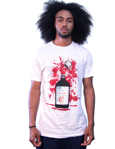 """Syrup"" White T-Shirt"
