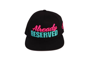 """Already"" Black/Pink Cap"