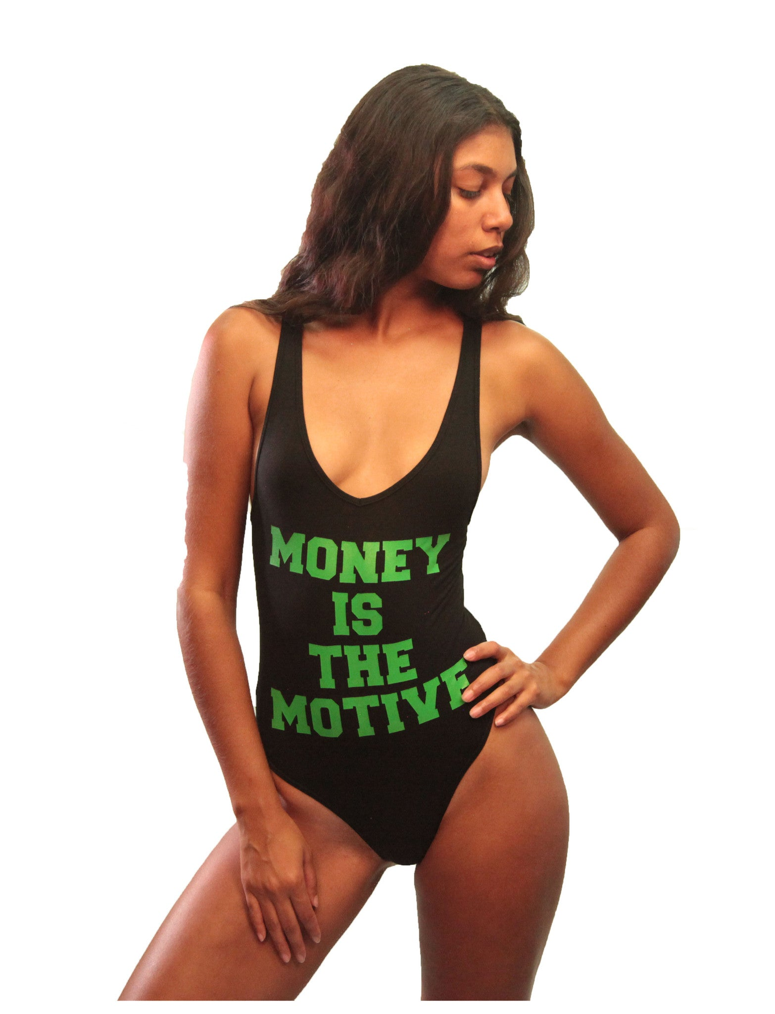 """Money is the Motive"" Bodysuit"
