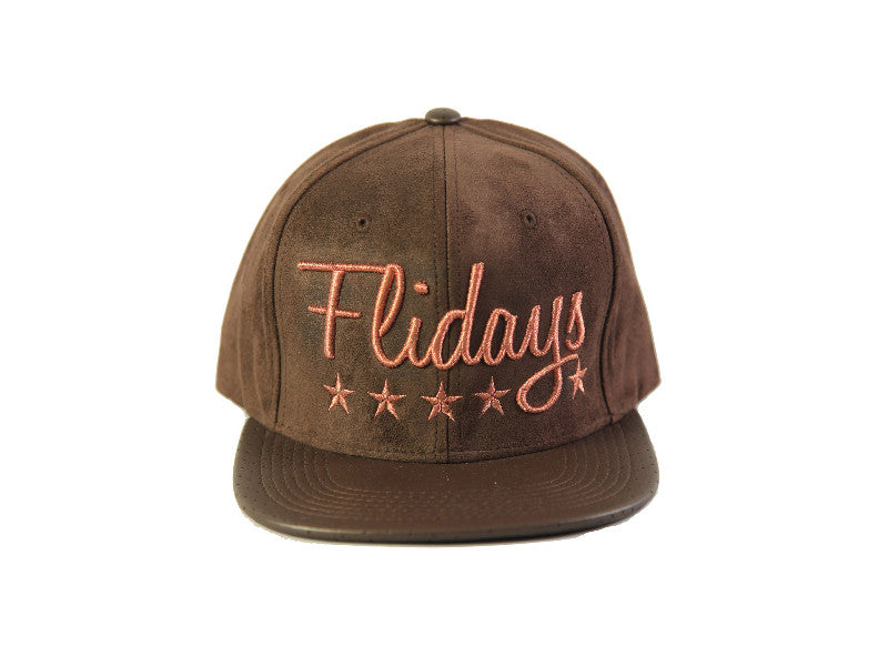 """Flidays"" Brown Cap"
