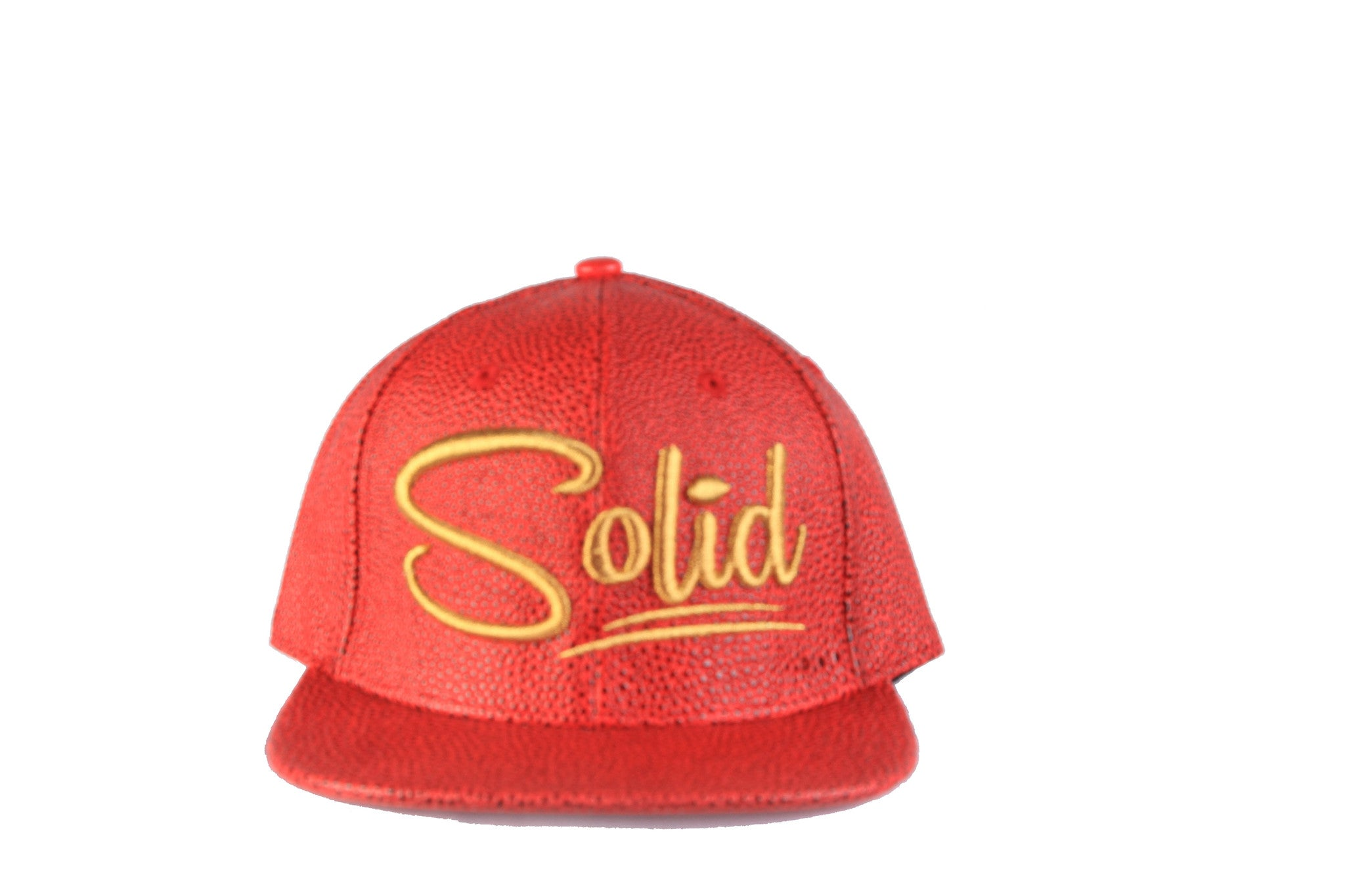 """Solid"" PU Red/Gold"