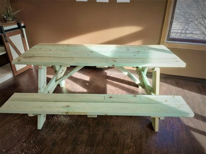 8' picnic table (local orders only)