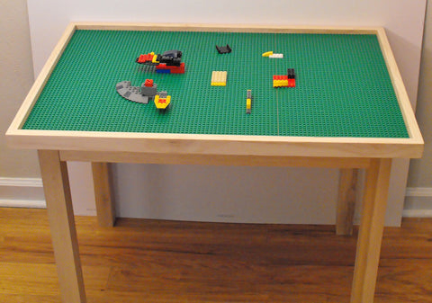 Extra Large Building Block And Activity Table With 8 Lego