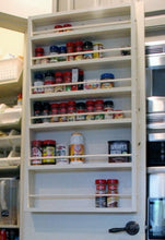 Behind the door spice rack