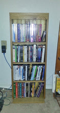 Media Center, Oak Wood with bead board back and adjustable shelves
