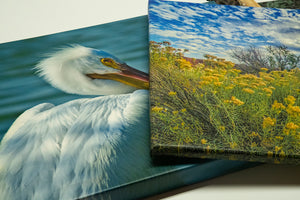 Order 3/4 inch canvas gallery wraps