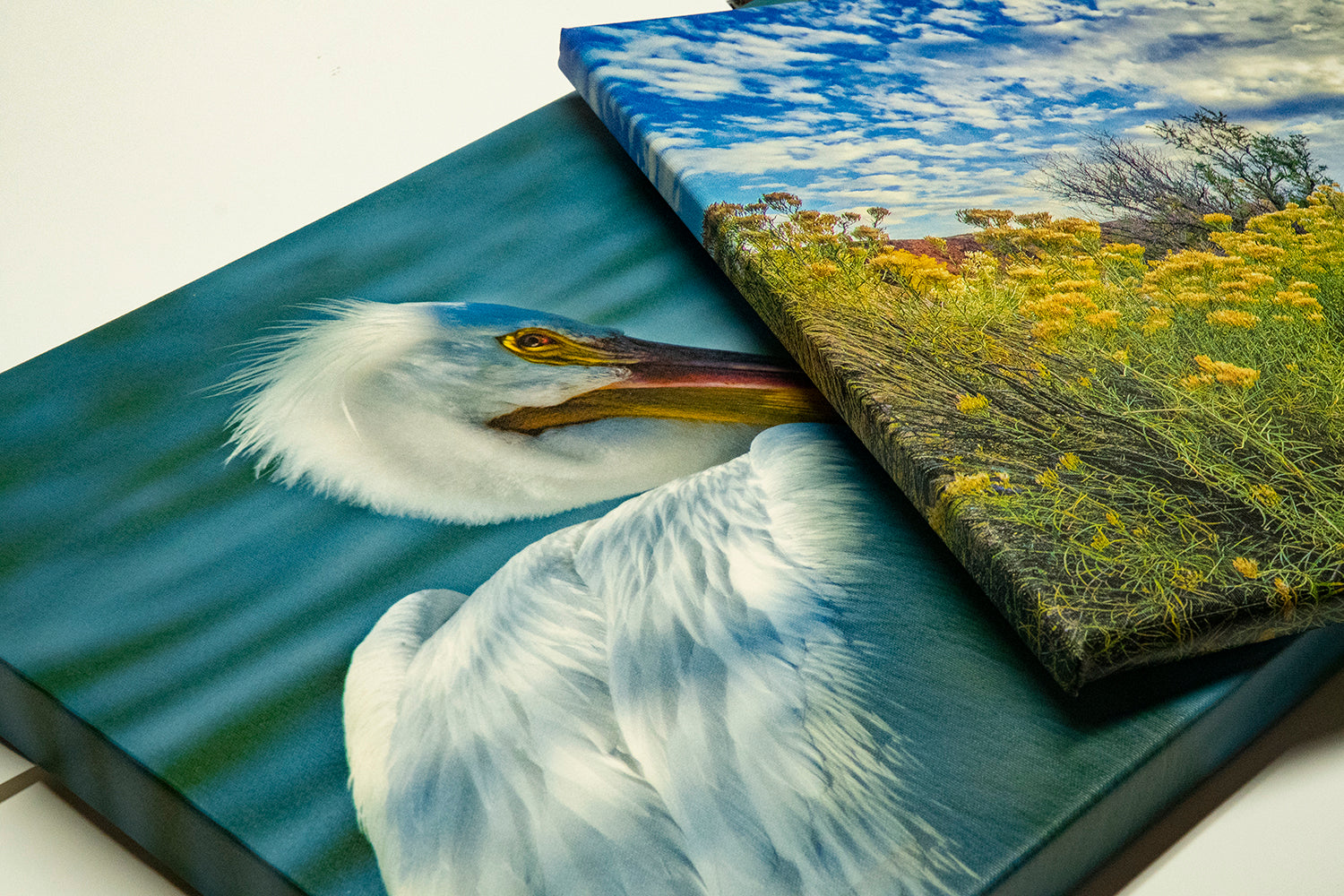 A Canvas Gallery Wrap mounted on 1 1/2 inch stretcher bars #canvasprints