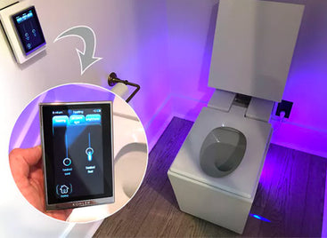 You Won't Believe This $5,000 Toilet from HTGV's Smart Home