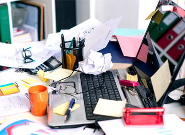 Alarming New Research Reveals The Average Office Desk Has More Germs Than A Toilet Seat