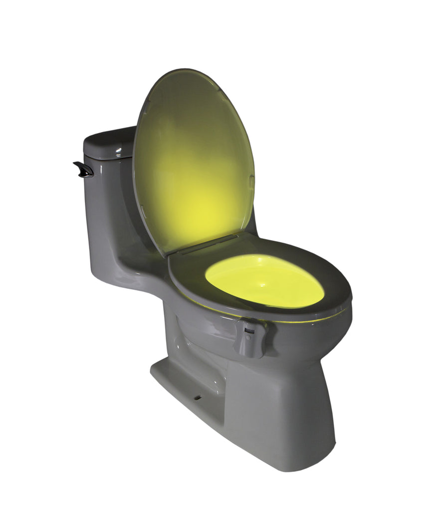 2-Pack GlowBowl - Motion Activated Toilet Nightlight