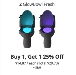 GlowBowl - Buy 1 Get 1 25% Off
