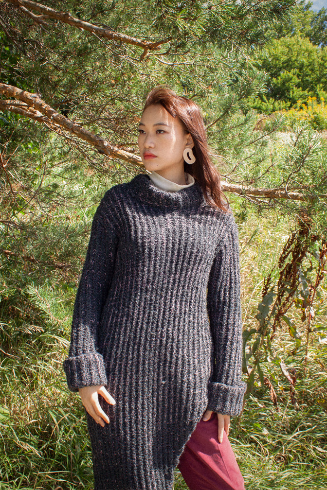 Angular Ribbed Sweater