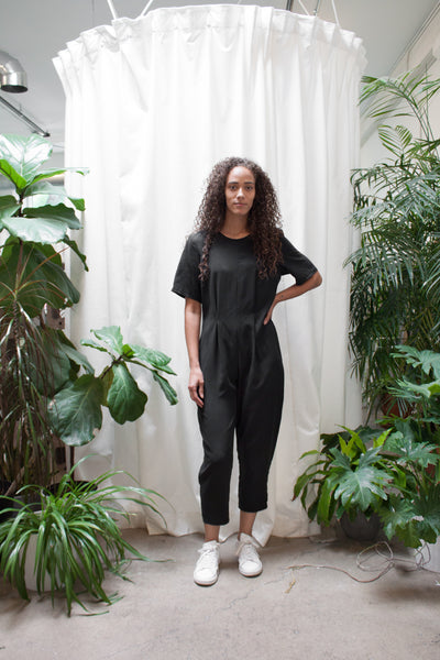 Tuck Jumpsuit
