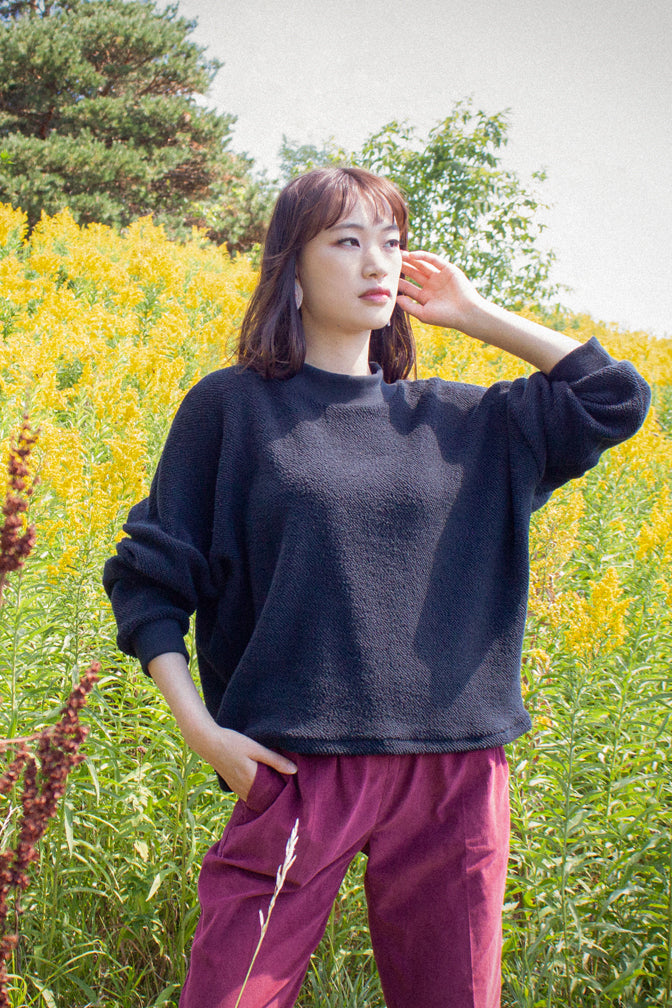 Large Loop Architextural Pullover