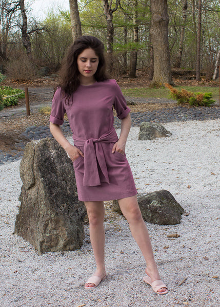 Lavender Tie Dress