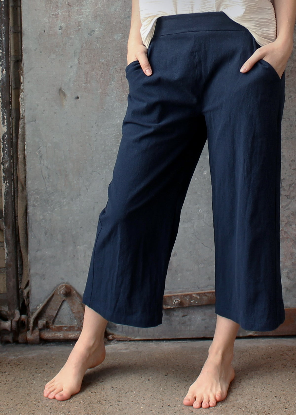 Althea Pant - Textured Cotton