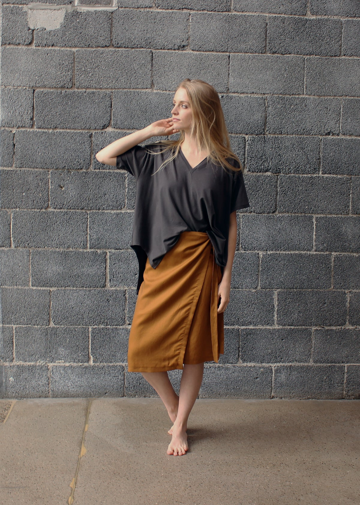 Eve Wrap Skirt