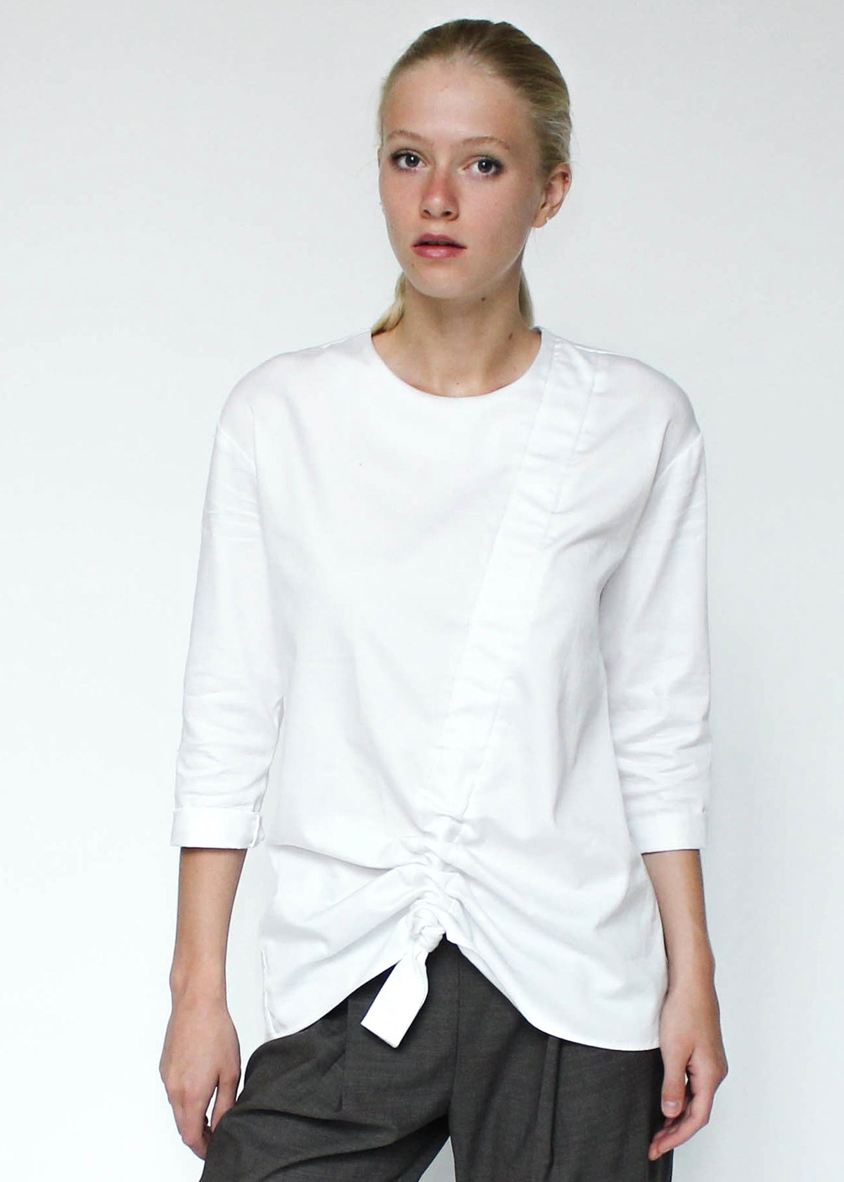 Rouched Blouse