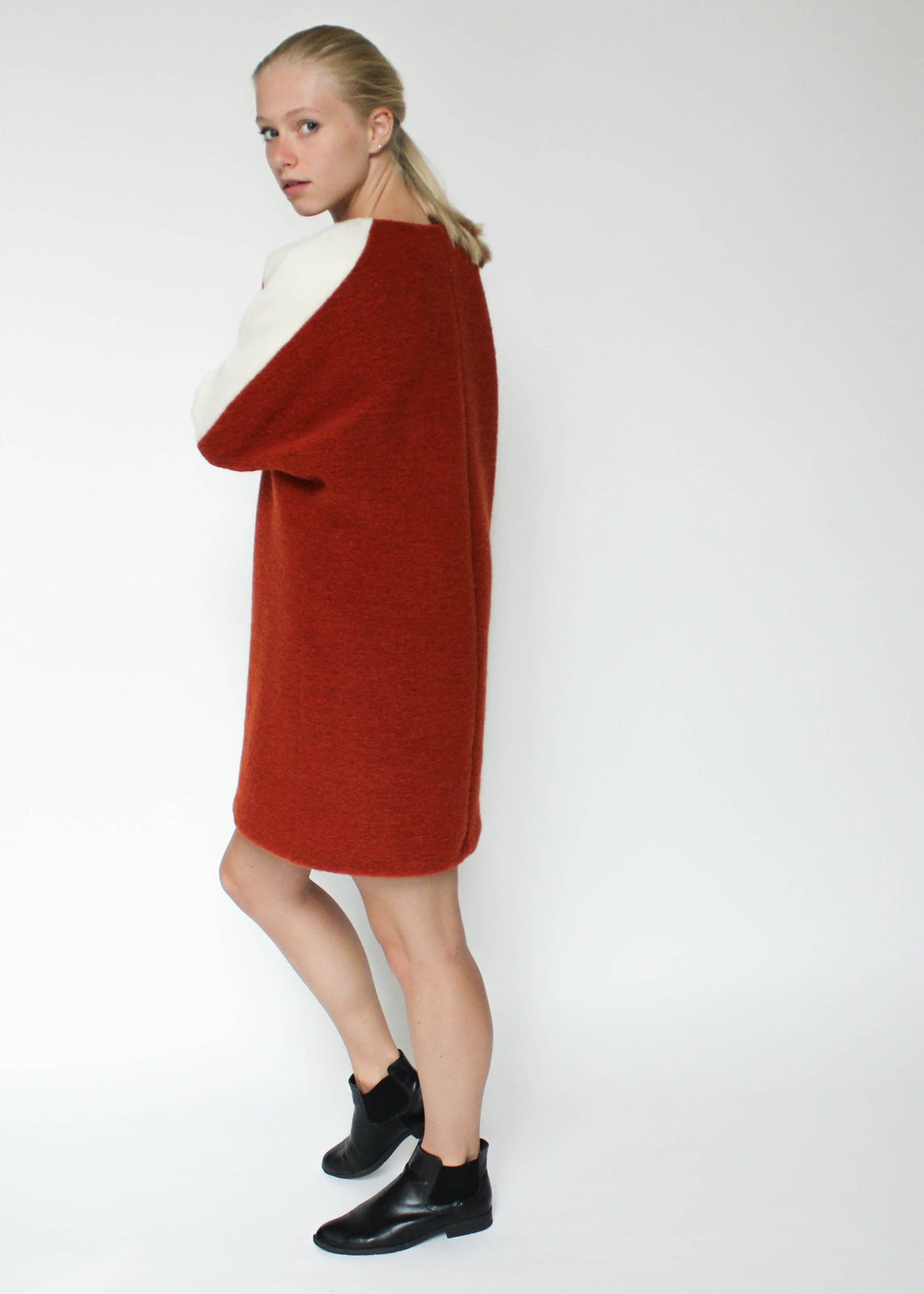 Ripple Wool Dress