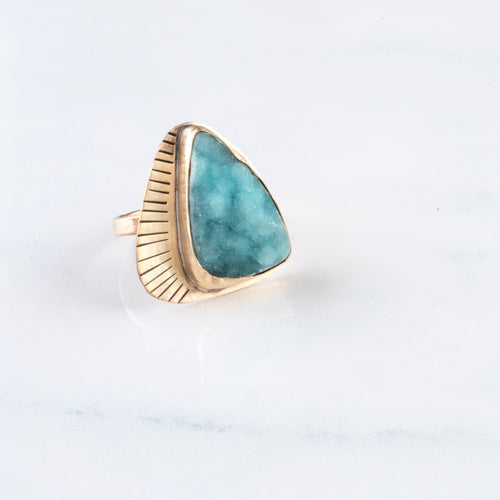 HEMIMORPHITE RING
