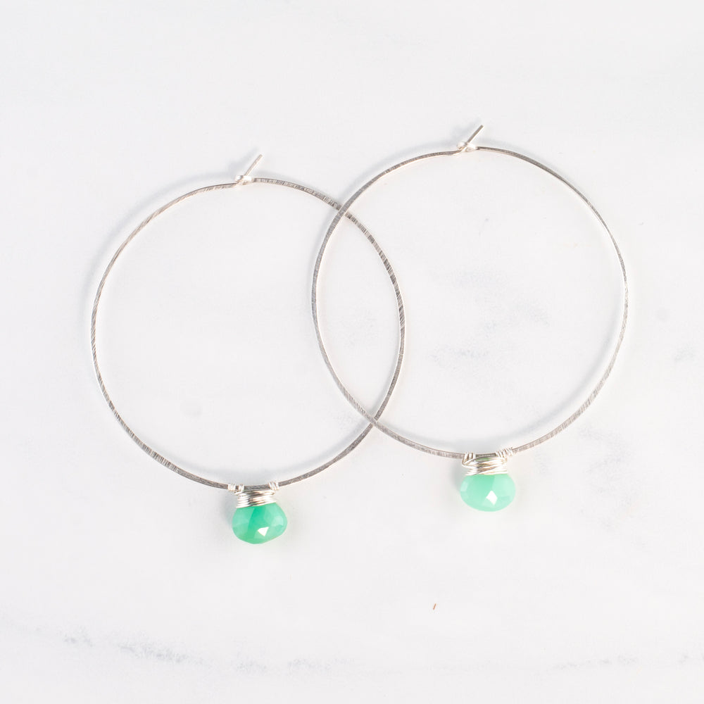 Single Stone Essential Hoops
