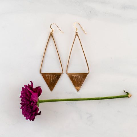 CASTLE GARDEN EARRINGS