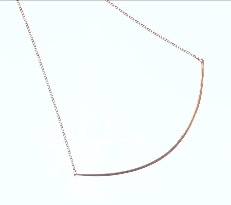 Load image into Gallery viewer, Bar Choker Necklace