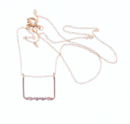 Rosalee Rectangle Necklace