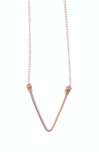 Classic 'V' Necklace