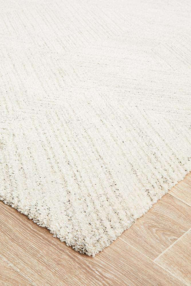 Simple Style Co: Zinal Rug Silver - Free Delivery Australia Wide