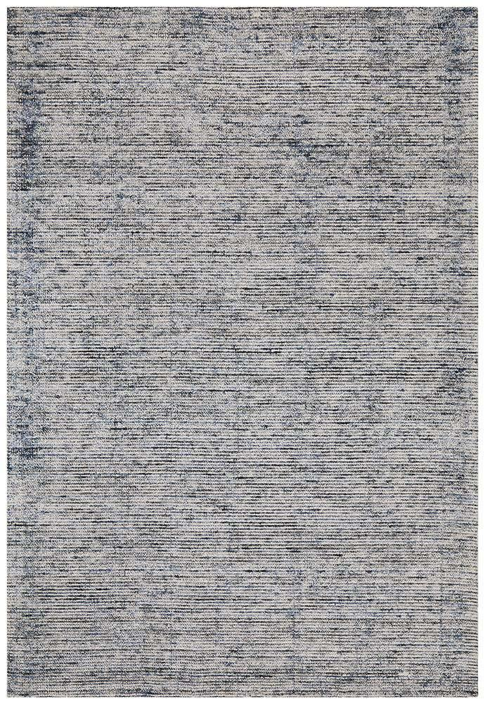 Leni Hand Loomed Cotton Rug - Indigo - Simple Style Co
