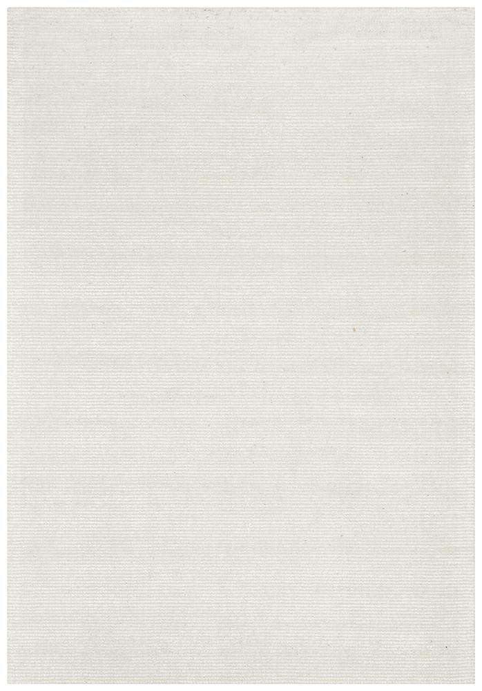 Leni Hand Loomed Cotton Rug Ivory | Free Delivery | Simple Style Co