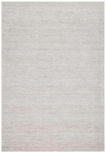 Leni Hand Loomed Cotton Rug Stone | Free Delivery | Simple Style Co