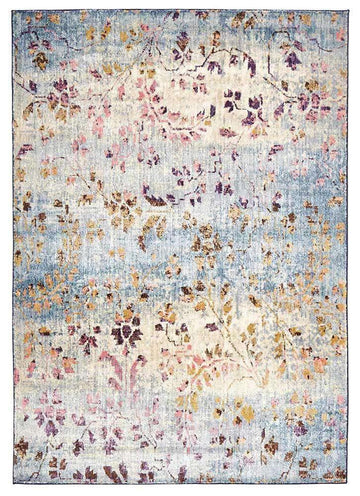 Juliet Floral Motif Rug | Transitional Rugs | Free Delivery | Simple Style Co
