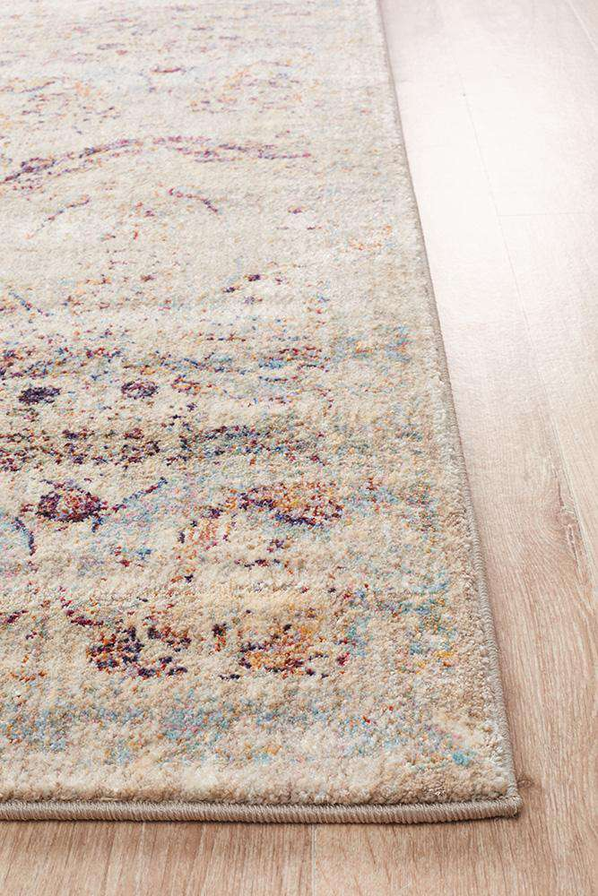 Arabella Distressed Transitional Rug - Simple Style Co