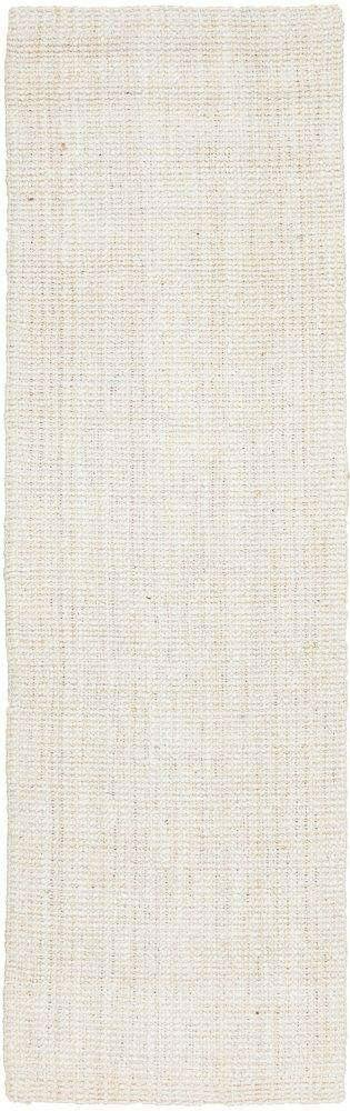 Byron Bleached Jute Hallway Runner Rug - Simple Style Co