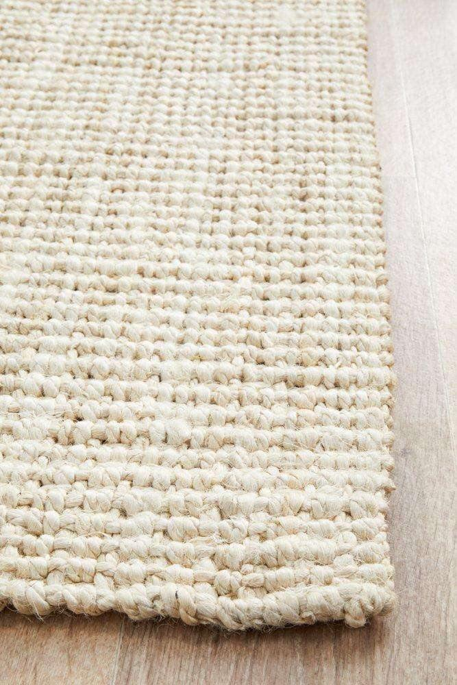 Atrium Barker Bleached Jute Runner - Simple Style Co