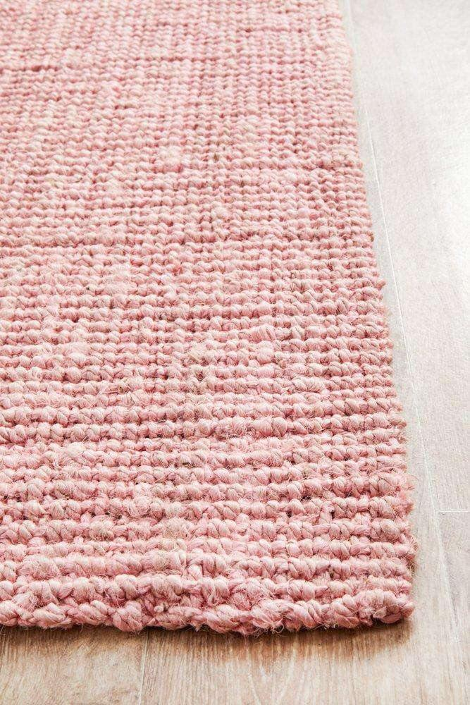 Atrium Barker Pink Jute Runner - Simple Style Co