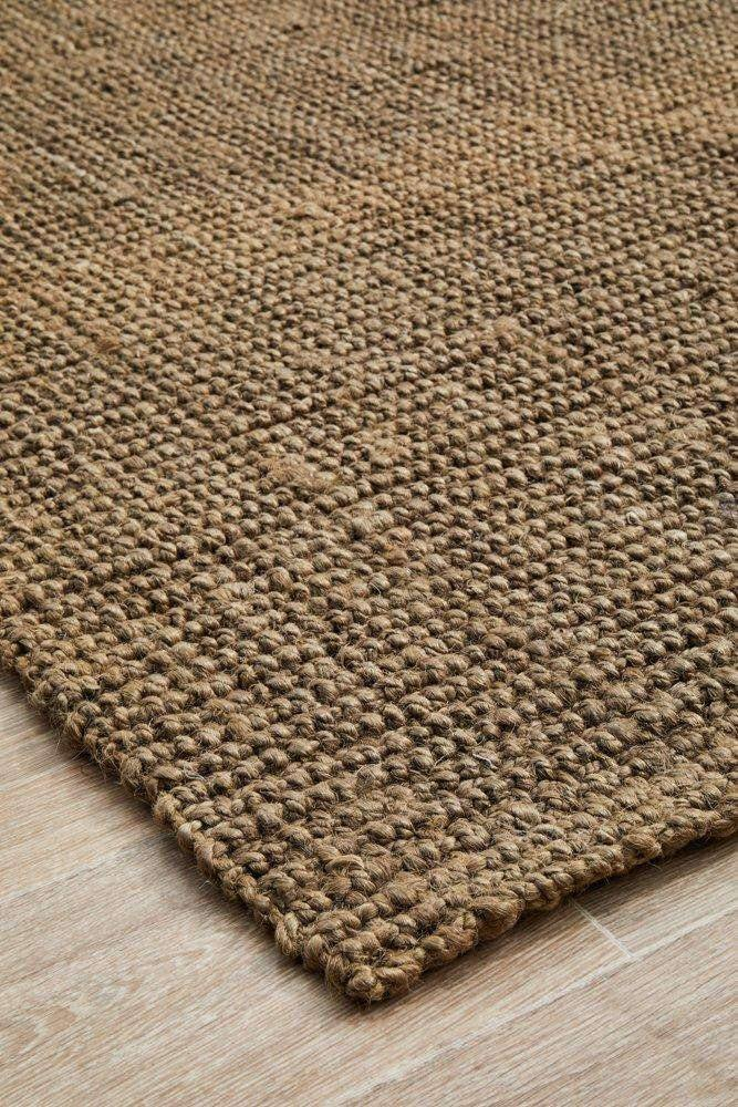Atrium Barker Silver Jute Rug - Simple Style Co