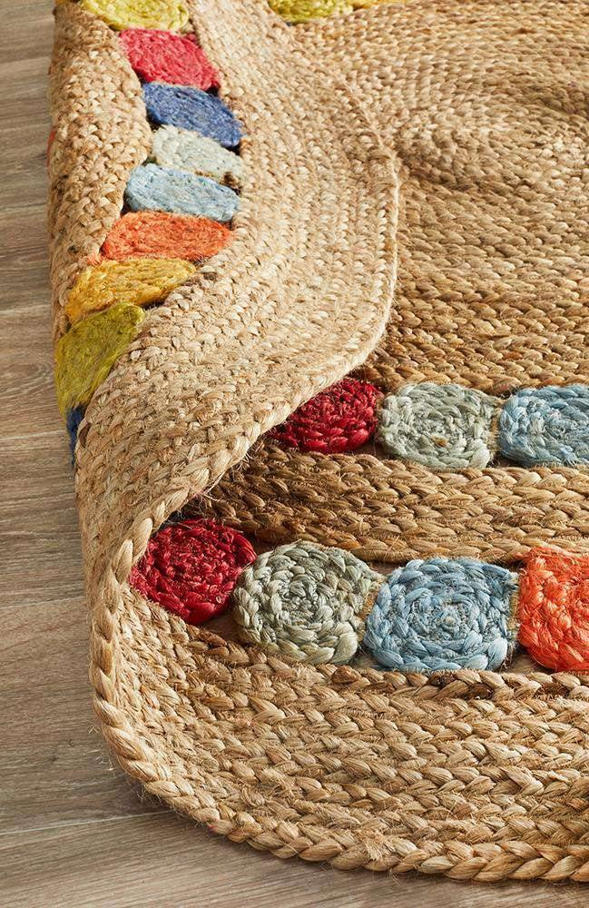 Gumball Jute Rug - Simple Style Co